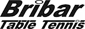 Bribar Table Tennis logo